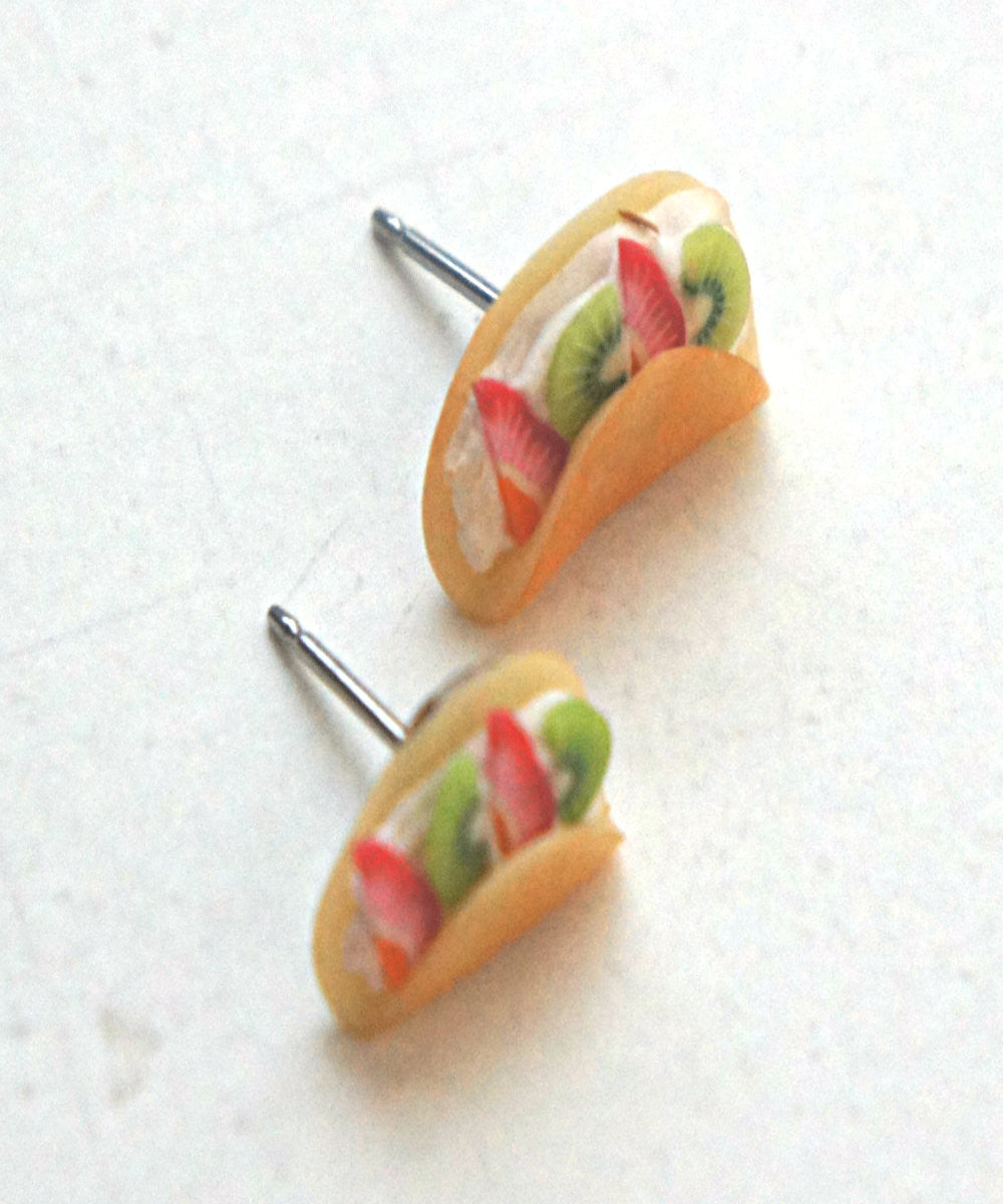 fruit crepe earrings - Jillicious charms and accessories - 2