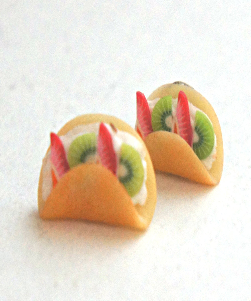 fruit crepe earrings - Jillicious charms and accessories - 1