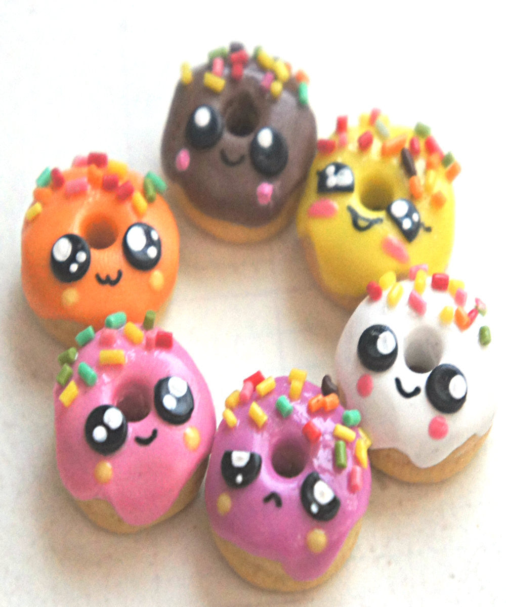 kawaii donut necklace - Jillicious charms and accessories - 1