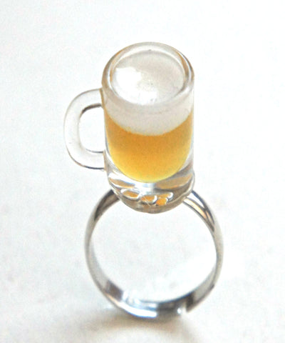 Beer Mug Ring - Jillicious charms and accessories - 1