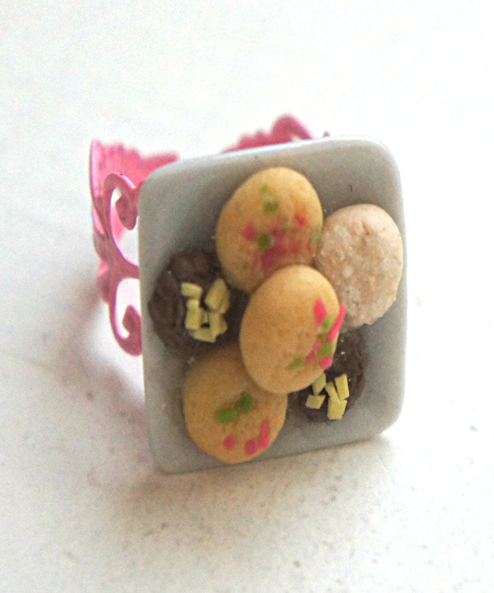 Shortbread Cookies Ring - Jillicious charms and accessories - 2
