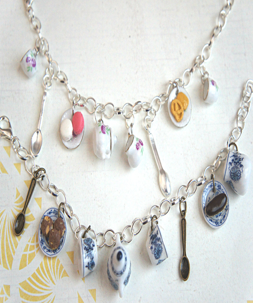 Tea Party Charm Bracelet - Jillicious charms and accessories - 2
