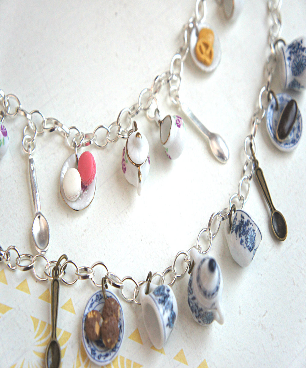 Tea Party Charm Bracelet - Jillicious charms and accessories - 6