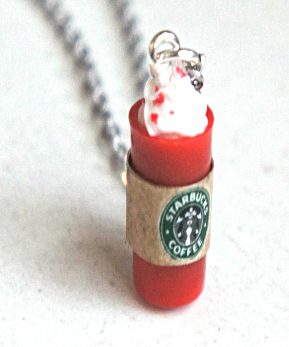 Starbucks Red Cup Necklace - Jillicious charms and accessories
