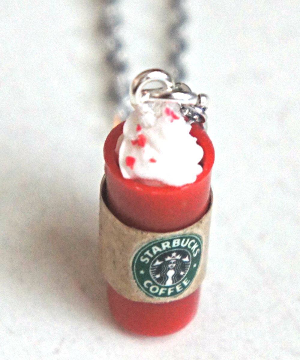 Starbucks Red Cup Necklace - Jillicious charms and accessories - 2