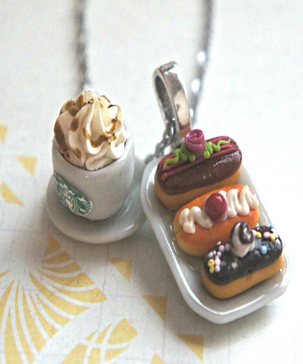 eclairs and starbucks coffee necklace - Jillicious charms and accessories - 4