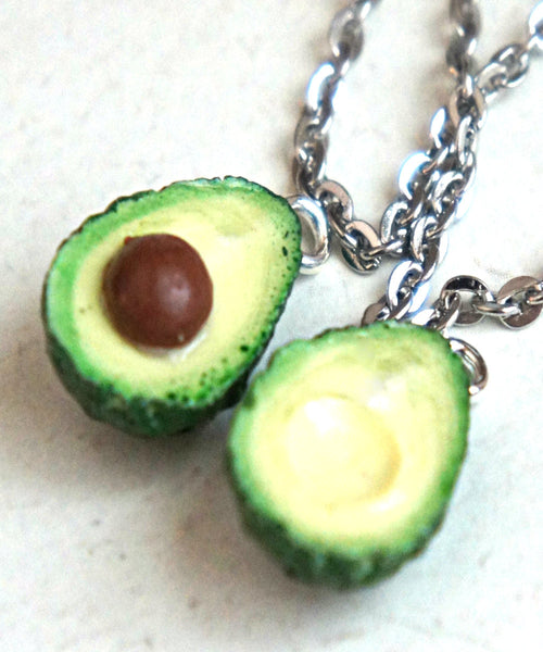 Avocado Friendship Necklace Set - Jillicious charms and accessories - 1