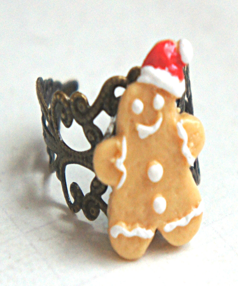 gingerbread cookie ring - Jillicious charms and accessories - 5