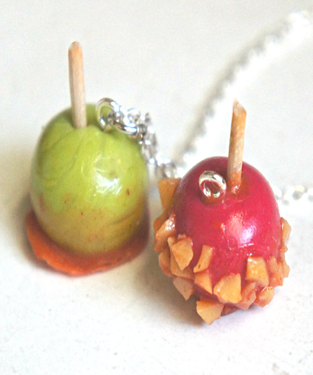 Candy Apple Necklace - Jillicious charms and accessories