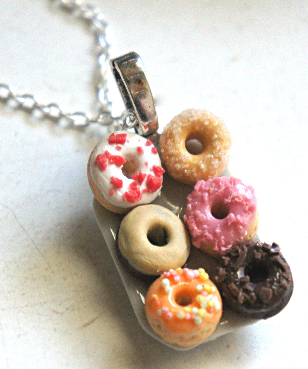 donut plate necklace - Jillicious charms and accessories