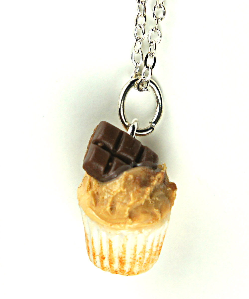 chocolate peanut butter cupcake necklace - Jillicious charms and accessories - 2