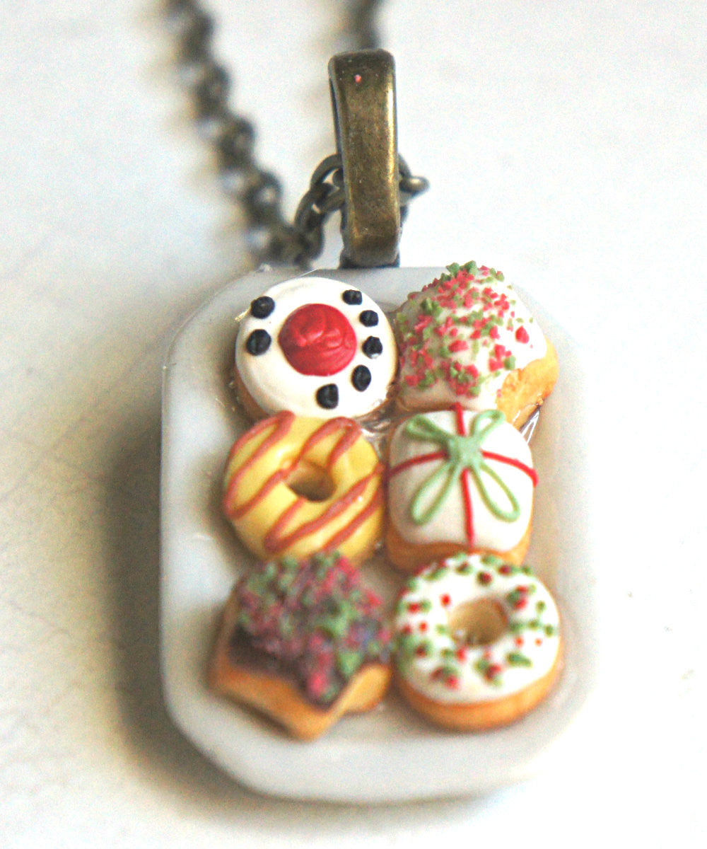 Christmas Donuts Necklace - Jillicious charms and accessories - 2