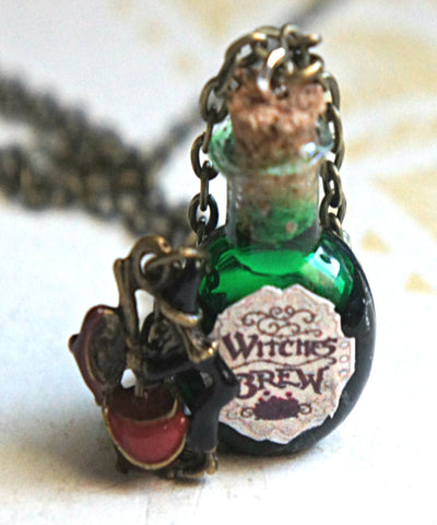 Witch's Brew Potion Necklace - Jillicious charms and accessories