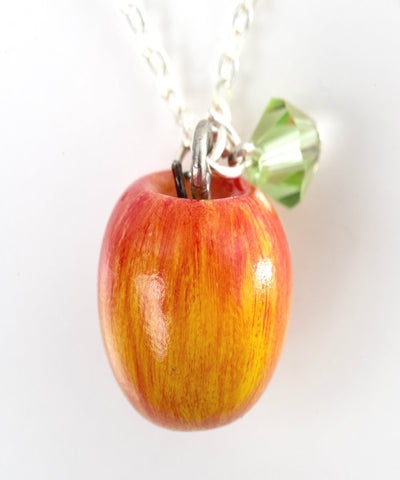 Apple Necklace - Jillicious charms and accessories