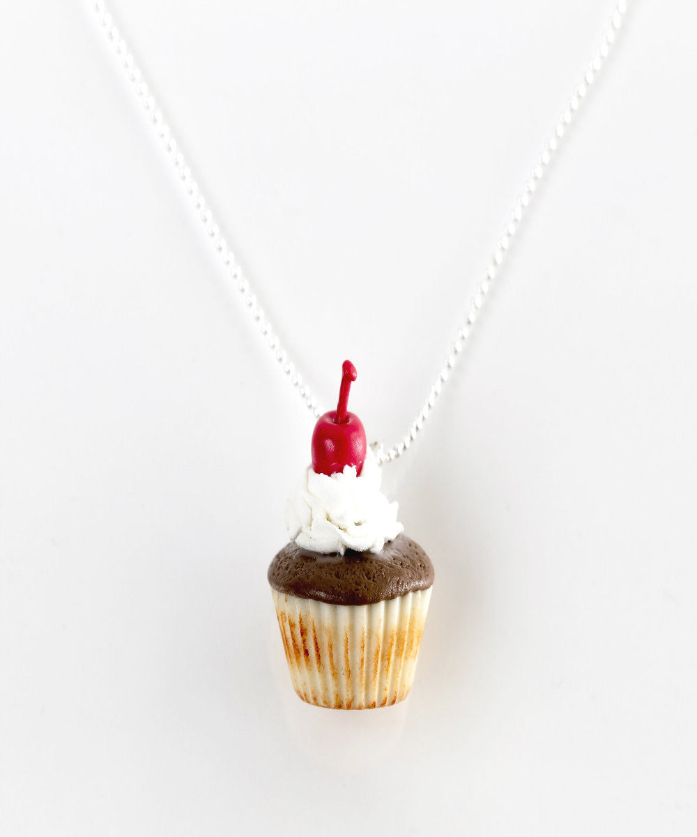 Mocha Cupcake Necklace - Jillicious charms and accessories - 2