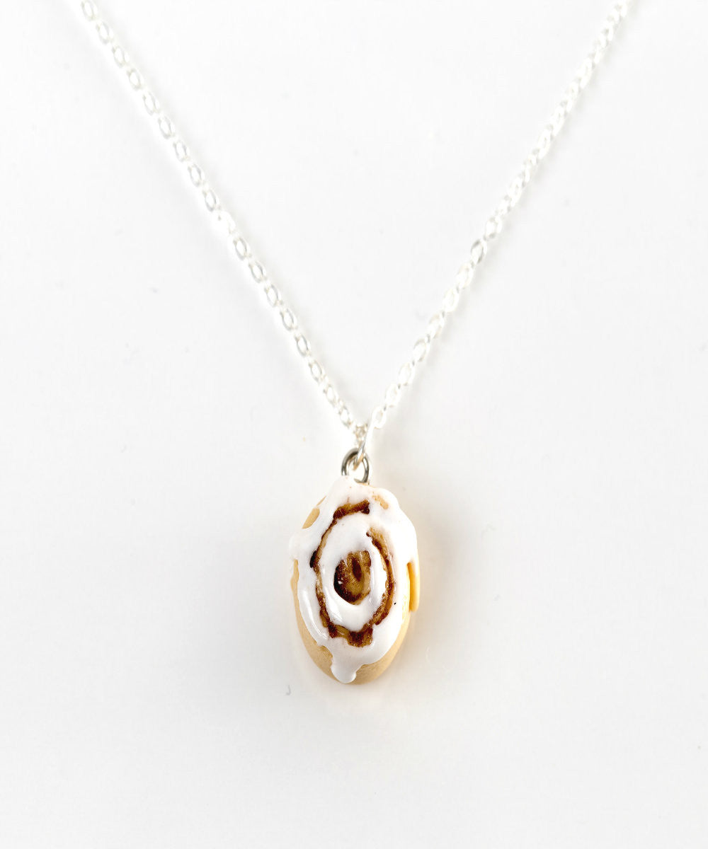 cinnamon bun necklace - Jillicious charms and accessories