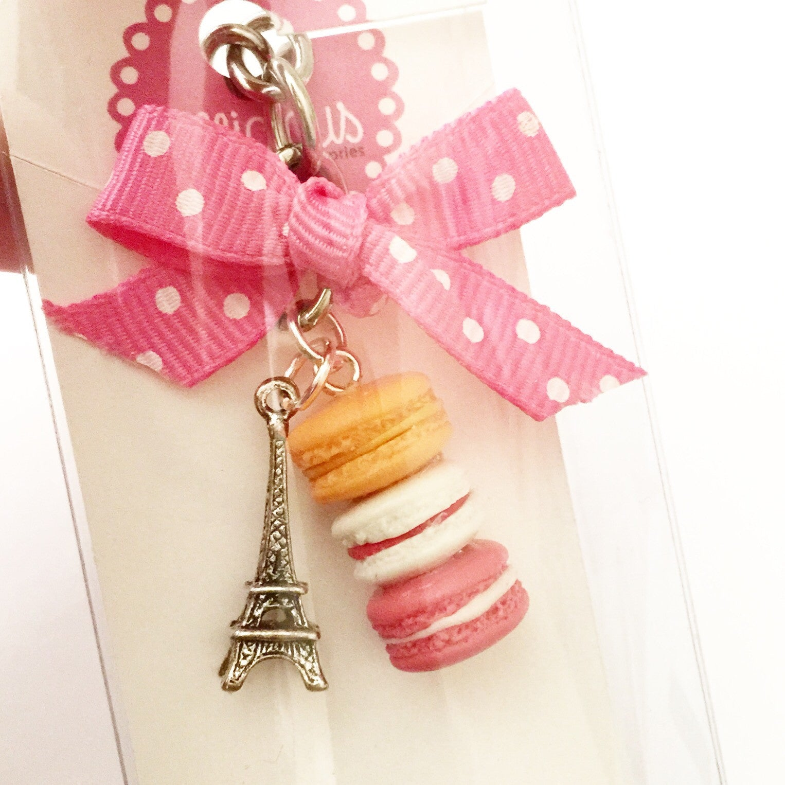 Parisian Themed Keychain - Jillicious charms and accessories - 7