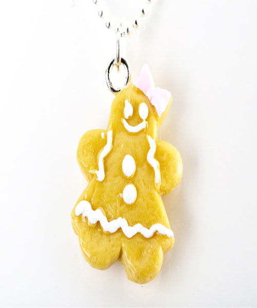gingerbread cookie necklace - Jillicious charms and accessories - 1