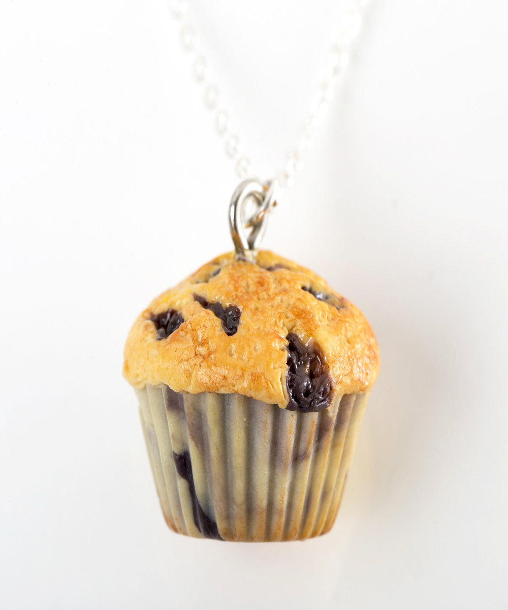 Blueberry Muffin Necklace - Jillicious charms and accessories