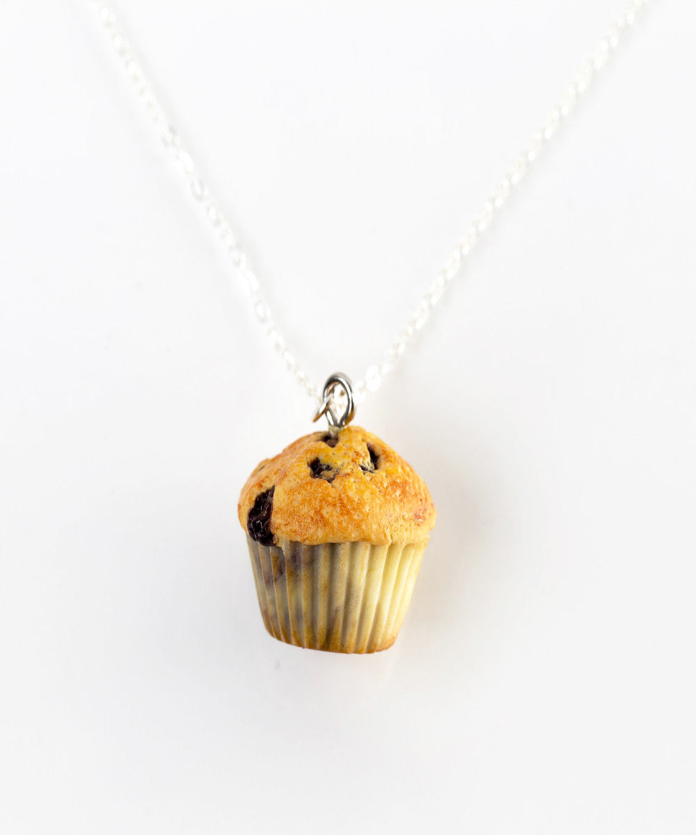 Blueberry Muffin Necklace - Jillicious charms and accessories - 2