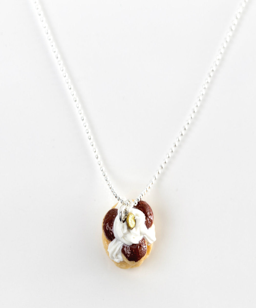 Saint Honore Pastry Necklace - Jillicious charms and accessories
