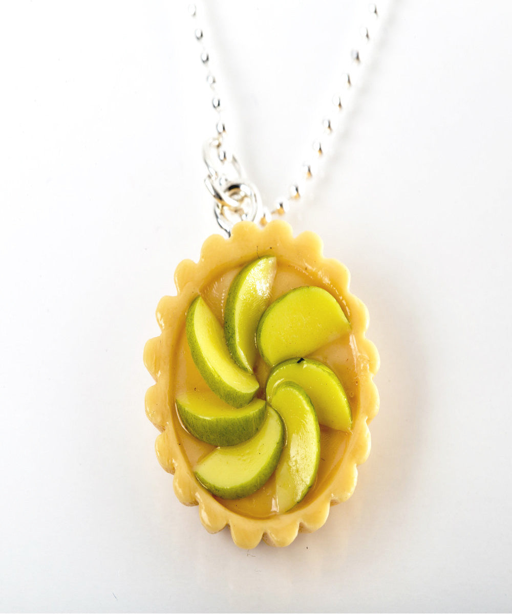 green apple tart necklace - Jillicious charms and accessories - 1
