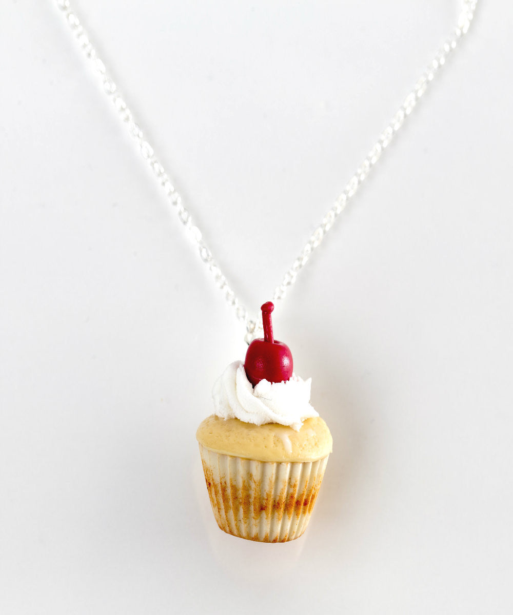 Vanilla Bean Cupcake Necklace - Jillicious charms and accessories - 2