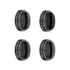 SANDMARC Aerial Filter for DJI Mavic Pro – Polarizer, ND4, ND8 and ND16 Filter Set – 4 Pack