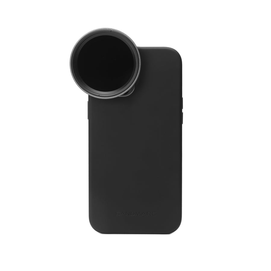 iPhone Variable ND Filter with Pro Case - SANDMARC Motion Filter