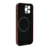 Pro Leather Case - iPhone 12 Pro Max (Magnet Enabled) - Brown