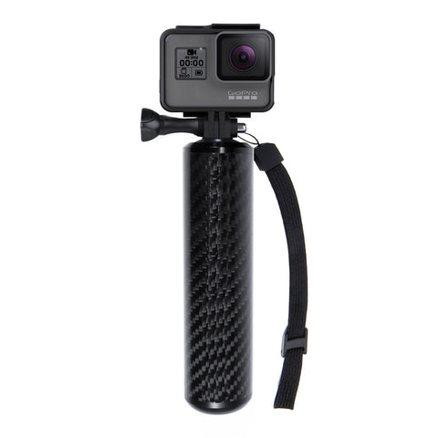 "SANDMARC Carbon Grip - Floating Waterproof Hand Grip for GoPro Hero 5 Black, Hero 4, Session, Black, Silver, Hero+ LCD, 3+, 3, 2, HD and 1/4"" Cameras"