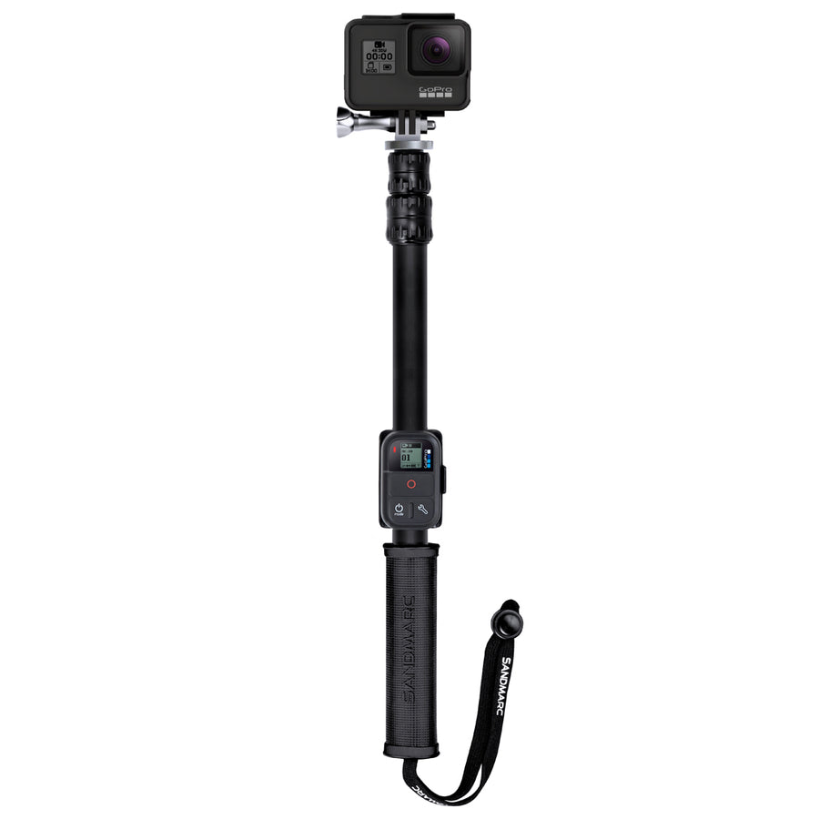 GoPro Pole (Stick) for GoPro Hero 9, 8, 7, 6, 5, 4 Cameras - SANDMARC