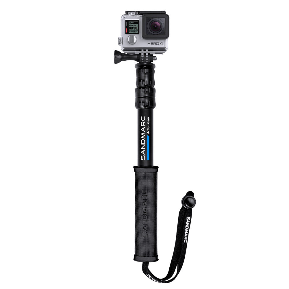 SANDMARC Pole (Stick) for GoPro Hero 5 4 3 2 HD Cameras