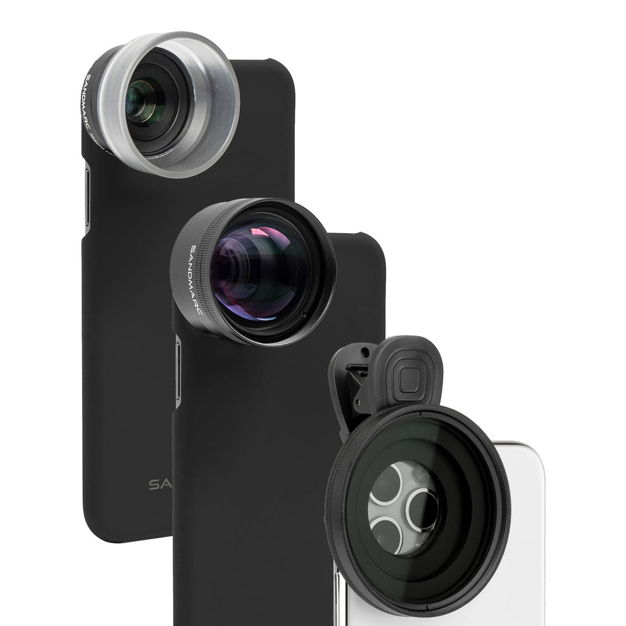 iPhone 12 lens Kit for photo - Photography Edition - SANDMARC