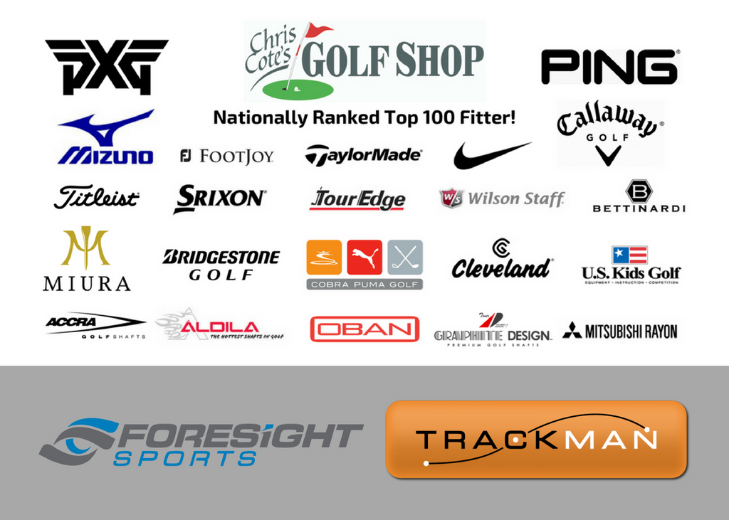 Home of the free custom fittings! – Chris Cote's Golf Shop