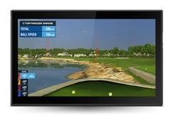 Virtual golf Toptracer