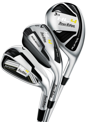 Tour Edge HL4 Triple Combo Set - Graphite