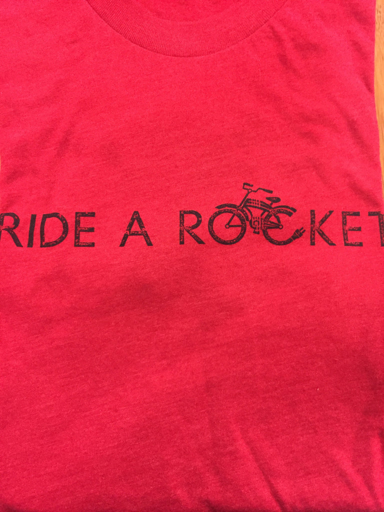 Merch Clothing T Shirt Rocket Electrics Red