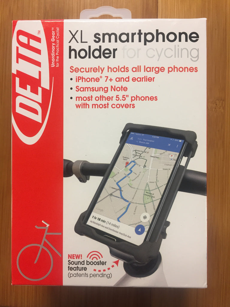 XL smartphone holder for cycling