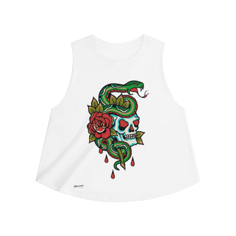 Snake on Skull Women Top