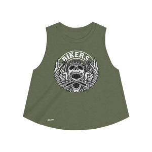 Tank Top,2XL / Heather Olive,Bikers Women Top | Bikerisma ™