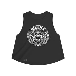 Tank Top,2XL / Solid Black Blend,Bikers Women Top | Bikerisma ™