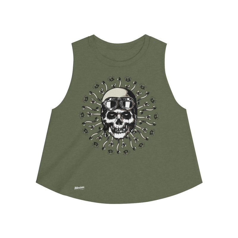 Tank Top,2XL / Heather Olive,Biker's Mantra Women Top | Bikerisma ™