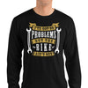 Men's Long Sleeve Shirt,,I Got 99 Problems Long Sleeve Shirt | thebikerstshirt