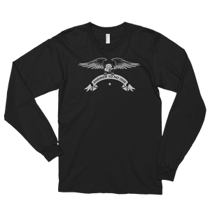 Men's Long Sleeve Shirt,Black / 2XL,Answer To No One Long Sleeve Shirt | thebikerstshirt