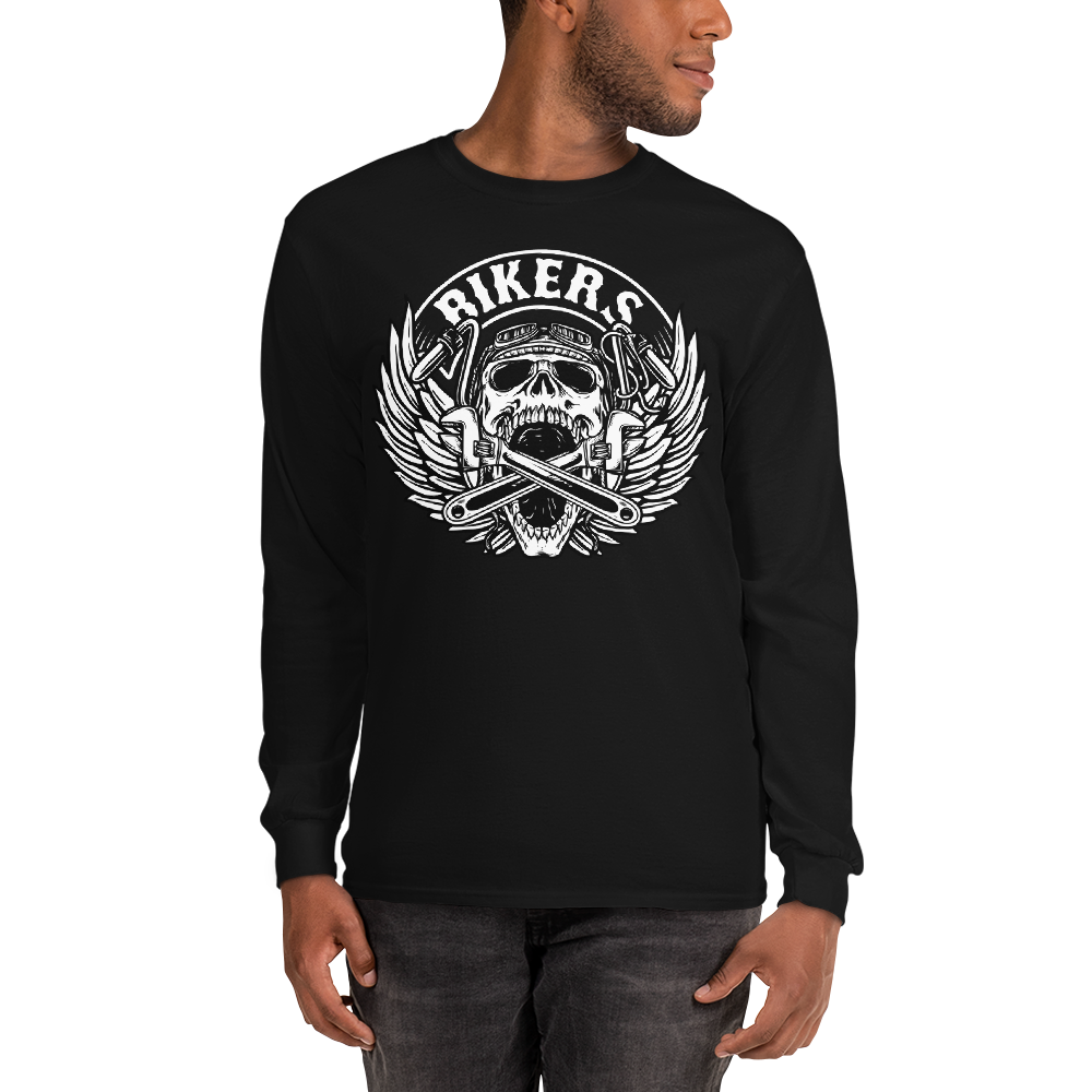 Men's Long Sleeve Shirt,,Bikers Long Sleeve Shirt | thebikerstshirt