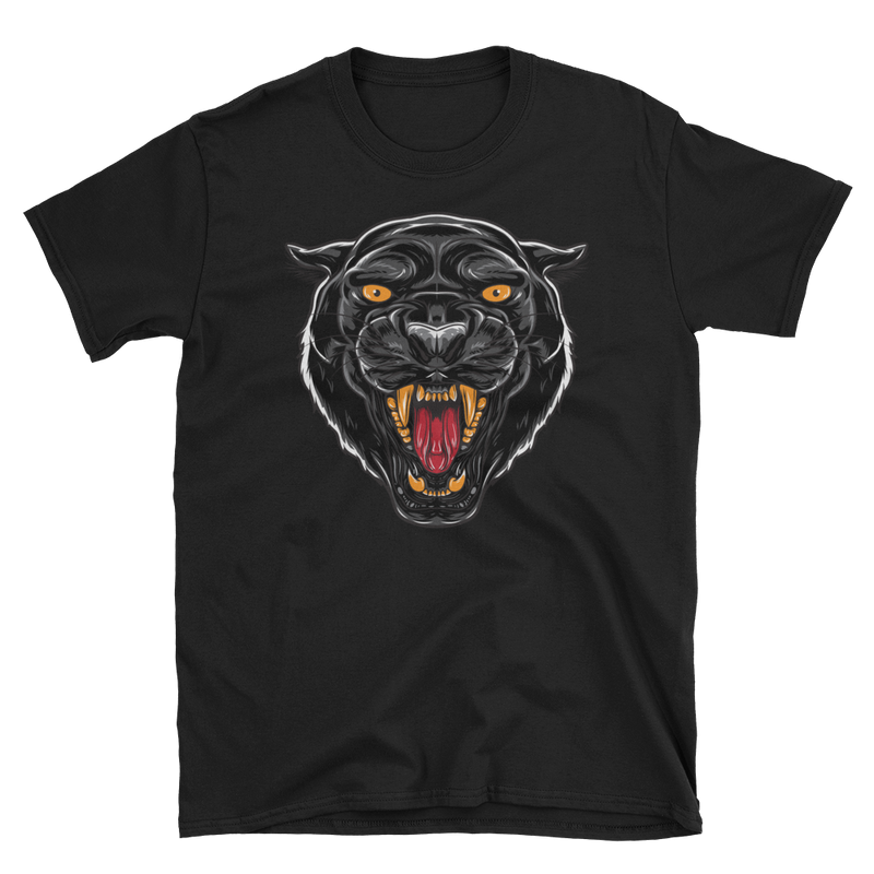 Men's T Shirt,Black / 3XL,Black Panther I T-Shirt | Bikerisma ™