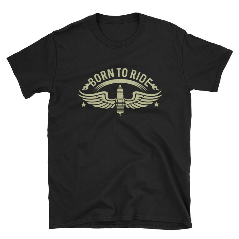 Men's T Shirt,Black / 3XL,Born To Ride T-Shirt | thebikerstshirt