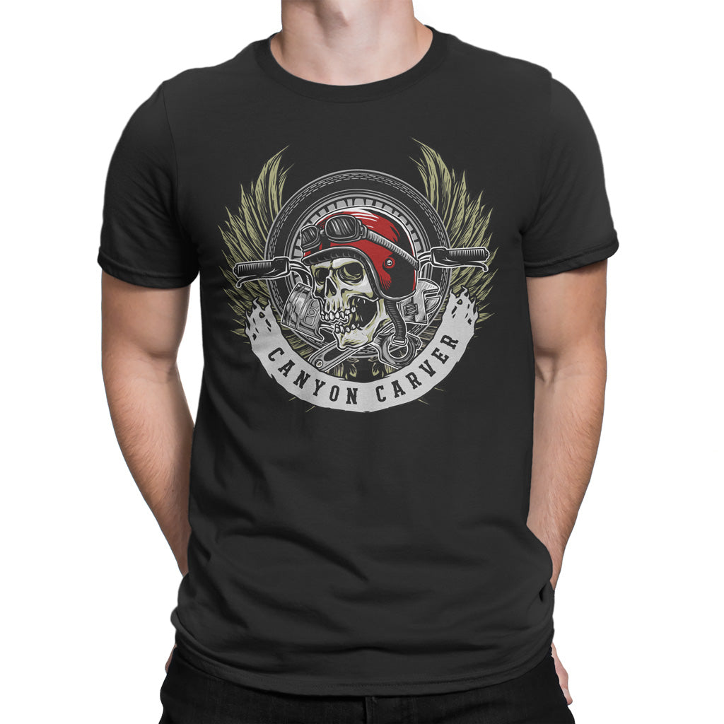 Men's T Shirt,,Canyon Carver T Shirt | thebikerstshirt