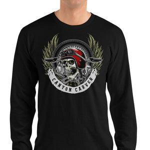 Men's Long Sleeve Shirt,,Canyon Carver Long Sleeve Shirt | thebikerstshirt